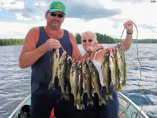 Eagle Lake Ontario Walleye Fishing