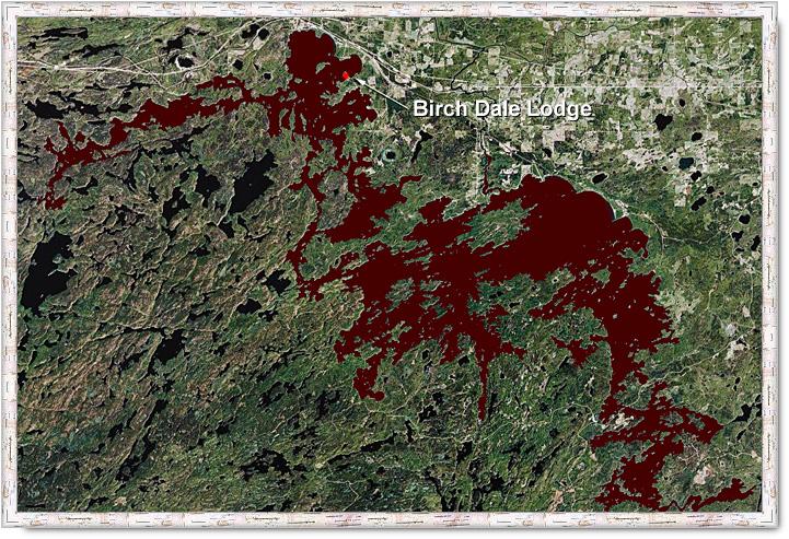 map of eagle lake ontario Map Of Eagle Lake map of eagle lake ontario
